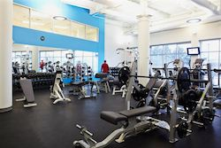 photo of a fitness center